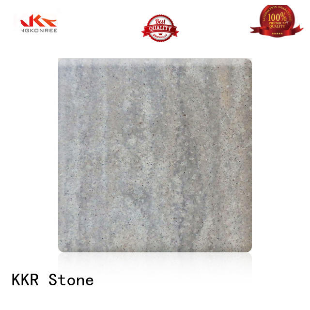 solid surface sheet marble for table tops KKR Stone