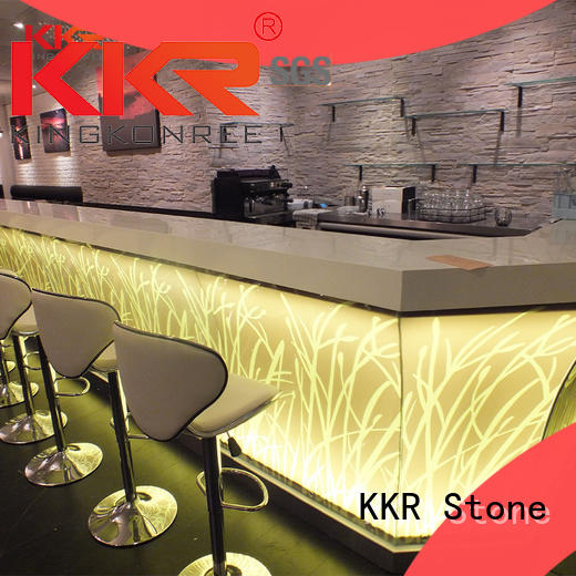 solid surface table artificial KKR Stone