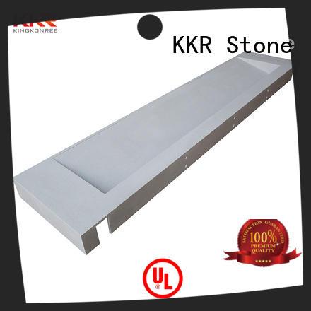 KKR Stone double Sink vanity top bathroom China for school building