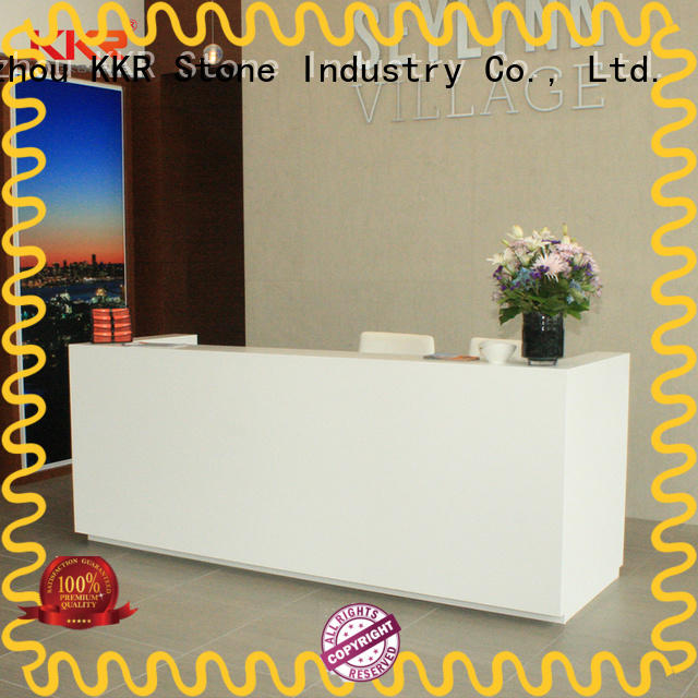 custom-made reception desk countertop designing order now for kitchen tops