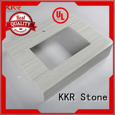 KKR Stone countertop acrylic countertops popular for table tops