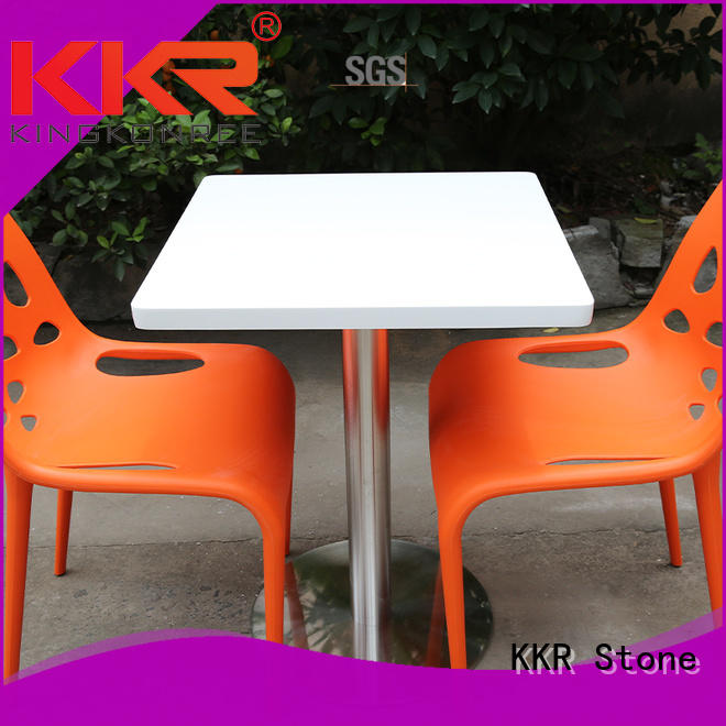 artificial marble dining table artificial KKR Stone