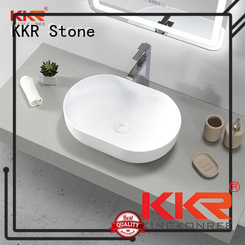 KKR Stone corian sink in good performance for home