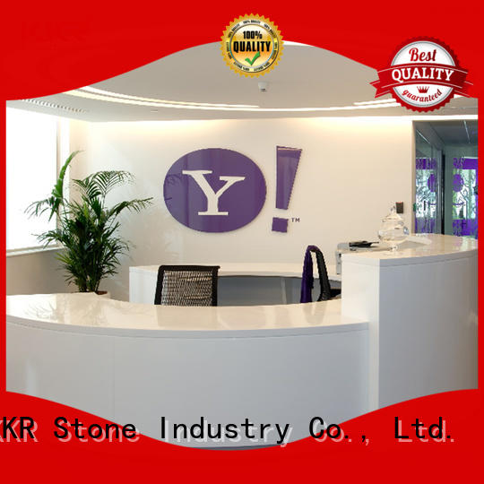 KKR Stone modified acrylic solid surface desk vendor for kitchen tops