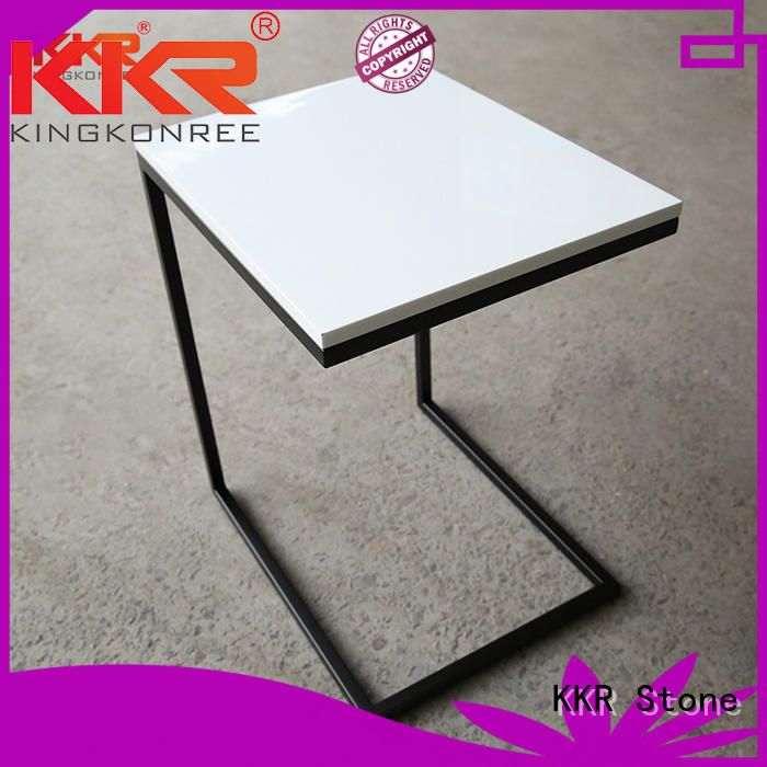 artificial marble round dining table KKR Stone