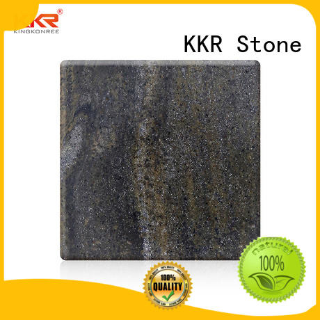 KKR Stone phoenix solid surface free design for kitchen tops