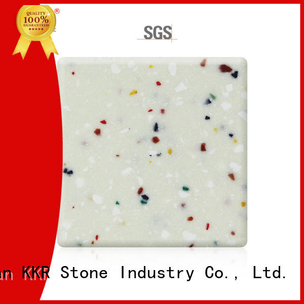 small solid surface factory superior chemical resistance for kitchen tops