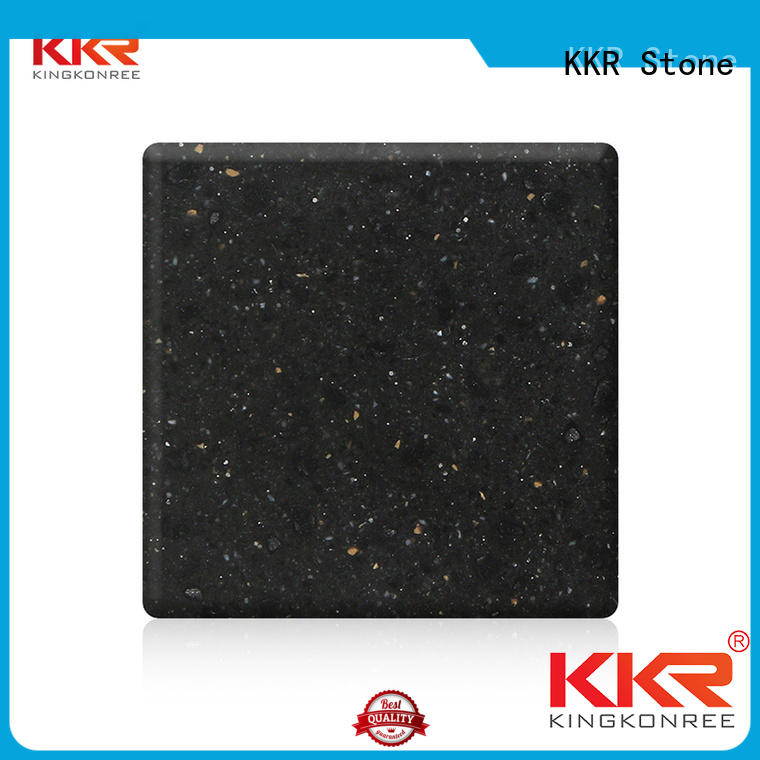 KKR Stone chips solid surface acrylics superior stain for garden table