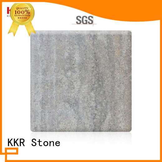 KKR Stone lassic style solid surface sheet sheets for table tops