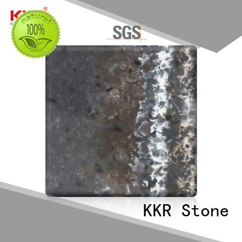 KKR Stone width corian solid surface sheet producer for school building