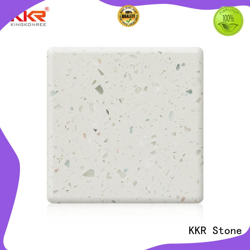 KKR Stone anti-pollution modified acrylic solid surface superior stain for kitchen tops
