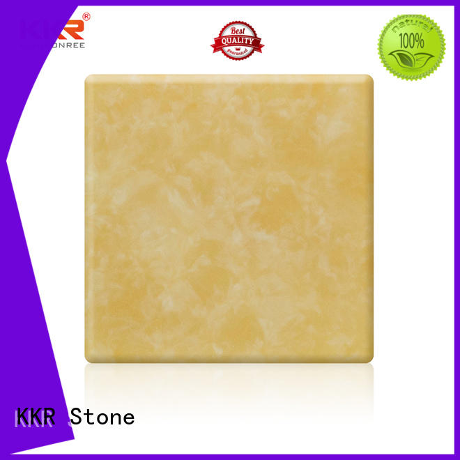 non-polluting translucent stone panel bulk production for bar table