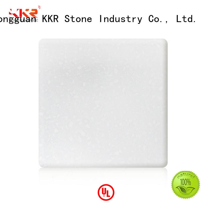 solid surface sheet quality for entertainment KKR Stone