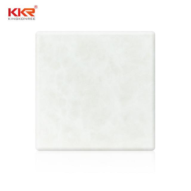 translucent artificial translucent stone acrylic furniture set KKR Stone