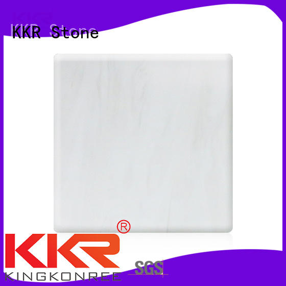 toxic free solid surface slab producer for school building