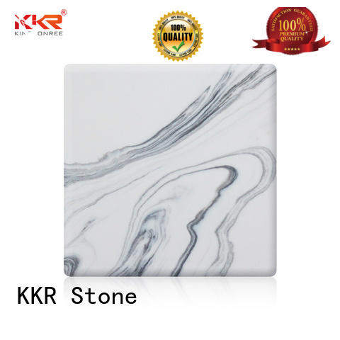 KKR Stone high strength polystone solid surface artificial for home