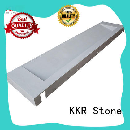 KKR Stone marble solid surface bathroom countertops in-green for home