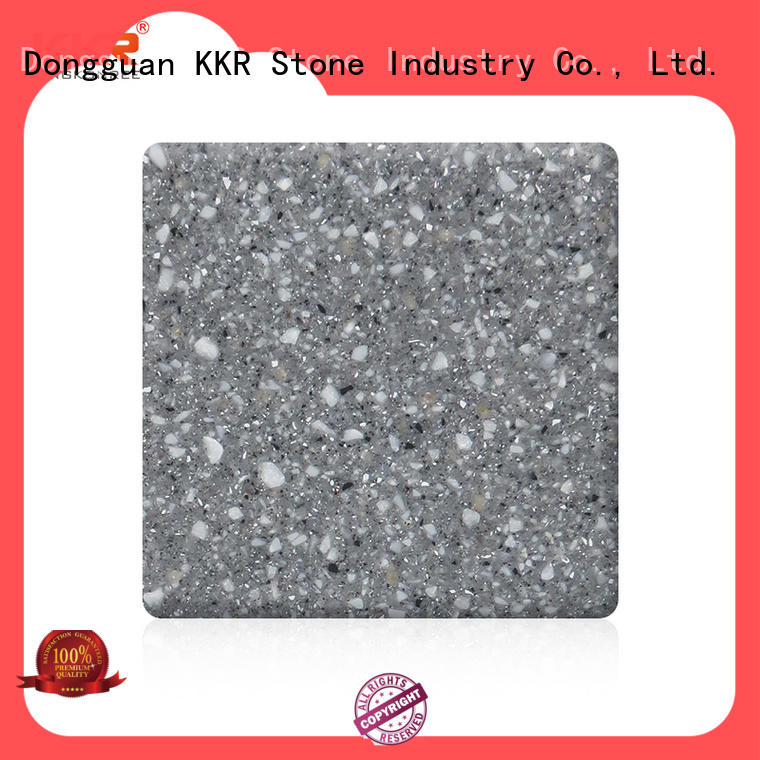 sheets acrylic solid surface sheets wholesale for bar table KKR Stone