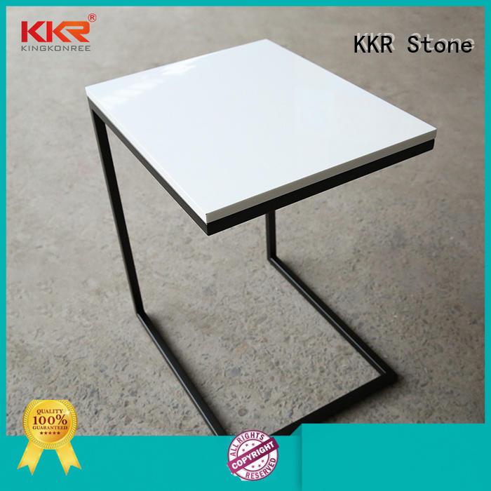 table solid surface bar tops acrylic KKR Stone