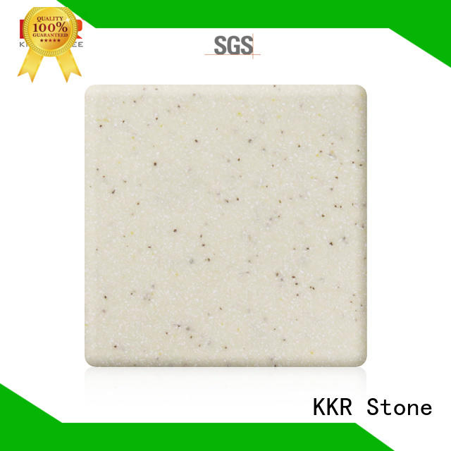 KKR Stone high tenacity modified solid surface superior bacteria for worktops
