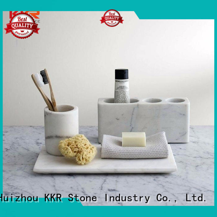 KKR Stone pattern bathroom shelves  manufacturer for home