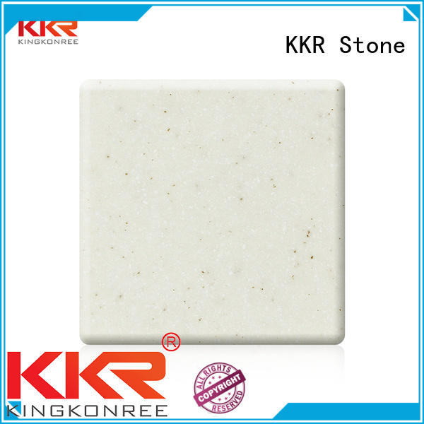KKR Stone color solid surface acrylics superior bacteria for building