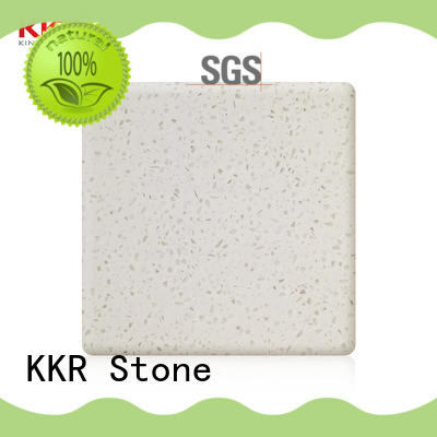 KKR Stone easily repairable solid surface big slabs superior stain for garden table