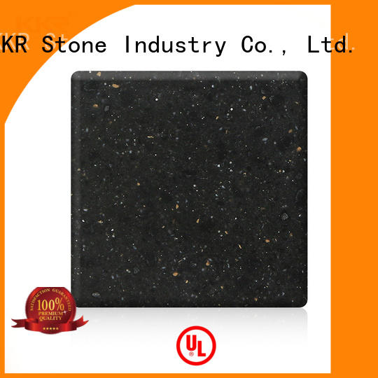KKR Stone color solid surface acrylics superior bacteria for garden table