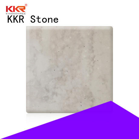 KKR Stone toxic free solid surface panels for building