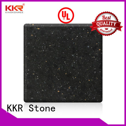 KKR Stone high tenacity solid surface factory superior stain for kitchen tops