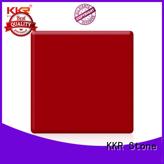 KKR Stone sheets solid surface supplier for school building