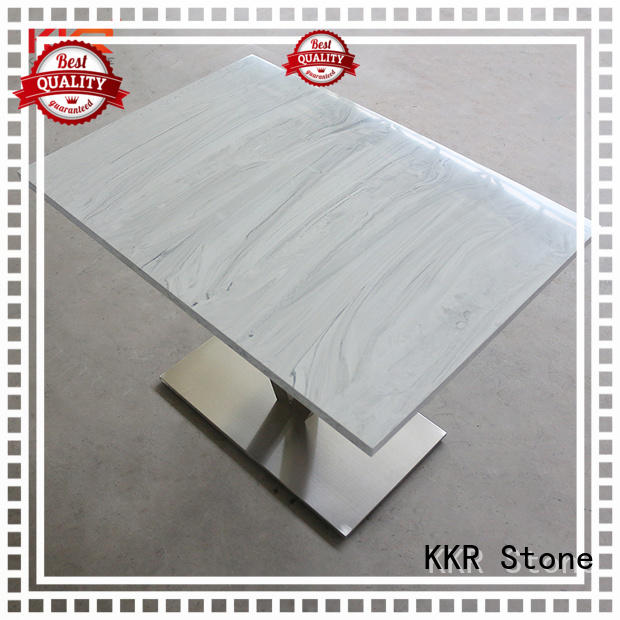 countertops artificial stone dining table counter KKR Stone