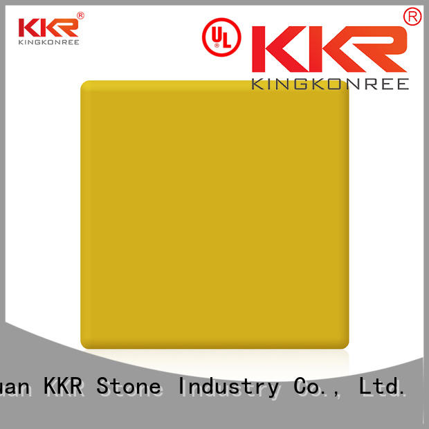 KKR Stone glacier solid surface acrylics superior bacteria for kitchen tops