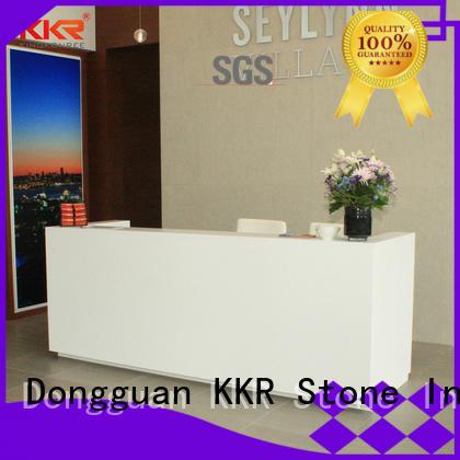 reception desk design designing for bar table KKR Stone