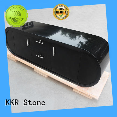 pure acrylic solid surface reception desk arcylic for home