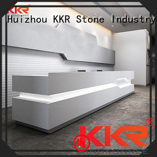 KKR Stone surface office furniture order now for early education