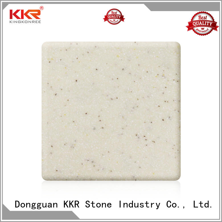modified acrylic solid surface sheet for kitchen tops KKR Stone