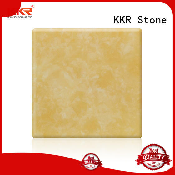 KKR Stone high strength translucent stone panel furniture set