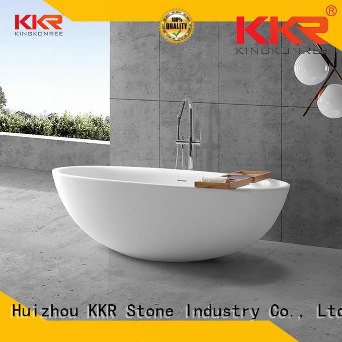 KKR Stone acrylic bathtub liner producer for entertainment