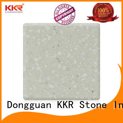 modified solid surface black furniture set KKR Stone