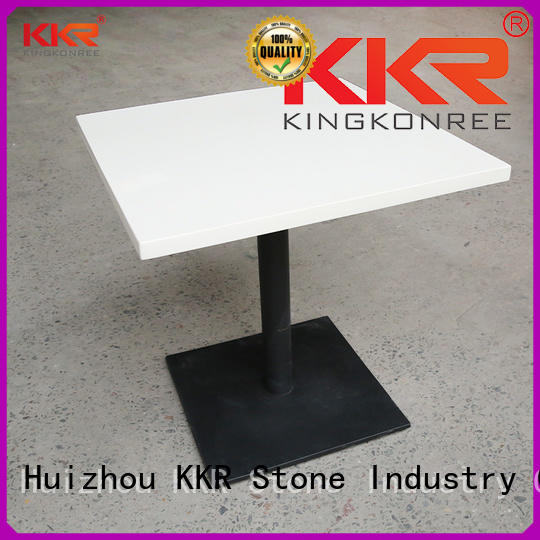 restaurant table marble