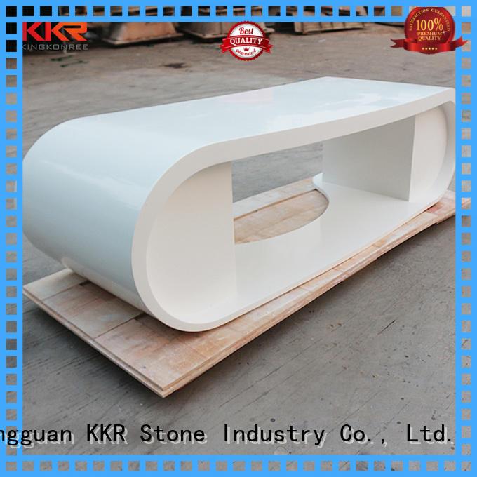 KKR Stone lassic style modern reception desk countertop for entertainment