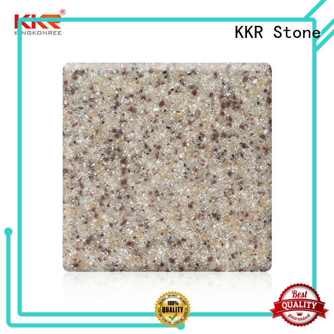 sparkle modified solid surface surface for building KKR Stone