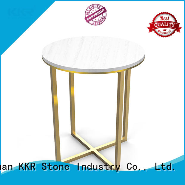 counter artificial stone dining table KKR Stone
