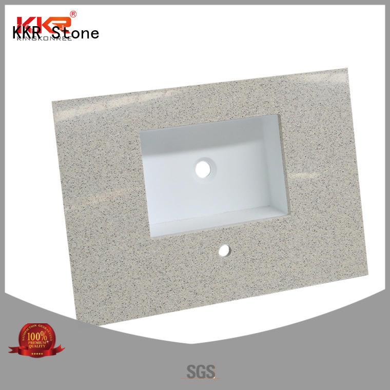 artificial acrylic countertops long-term-use for entertainment KKR Stone