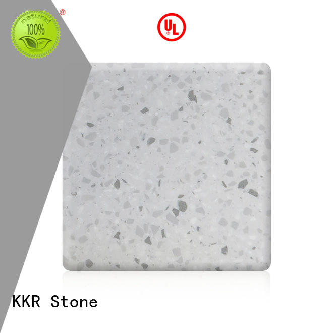 KKR Stone modern solid surface sheet marble for early education