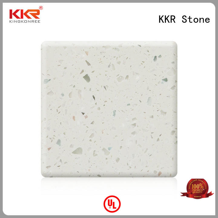 modified solid surface sheet acrylic for early education KKR Stone