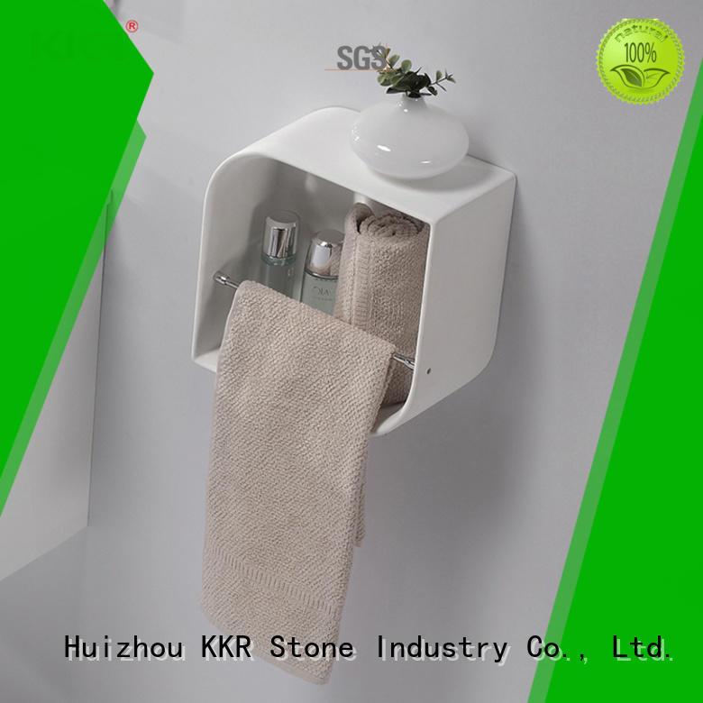 artificial bathroom wall shelves supply for home