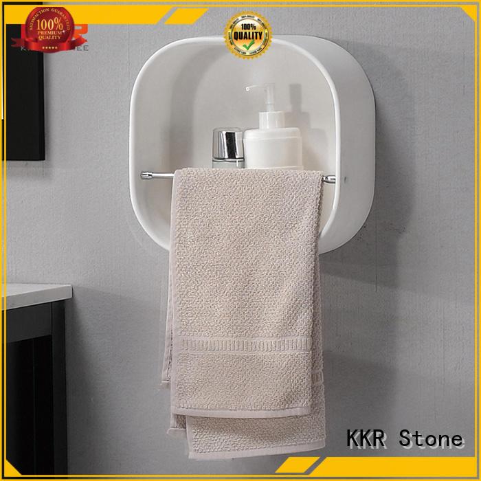 KKR Stone good Quality acrylic slatwall shelves manufacturer for hotel