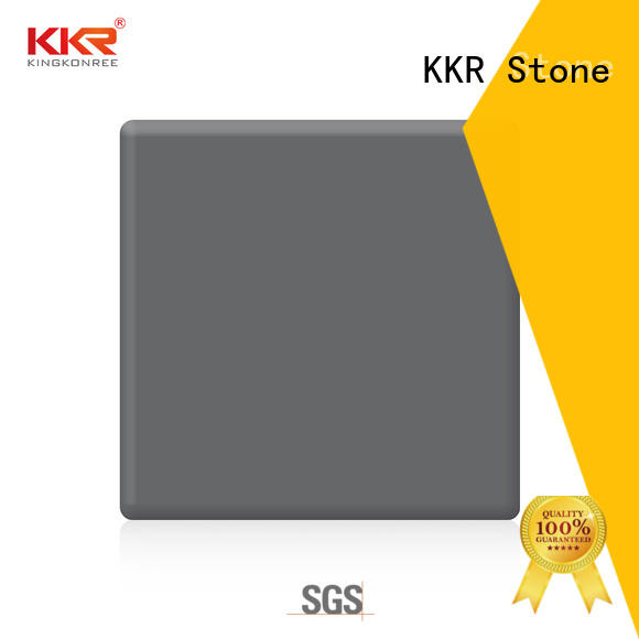 KKR Stone soild modified solid surface superior bacteria for kitchen tops